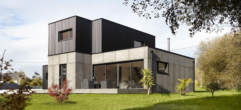 Constructeur De Maison Rennes e-loft : constructeur de maisons individuelles ossature bois