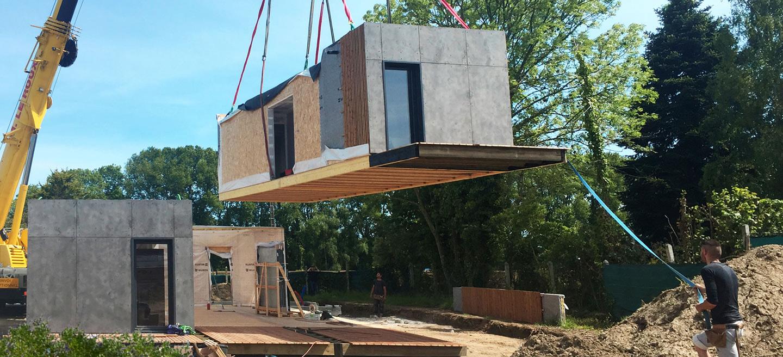 Prix Maison En Container e-loft : constructeur de maisons individuelles ossature bois