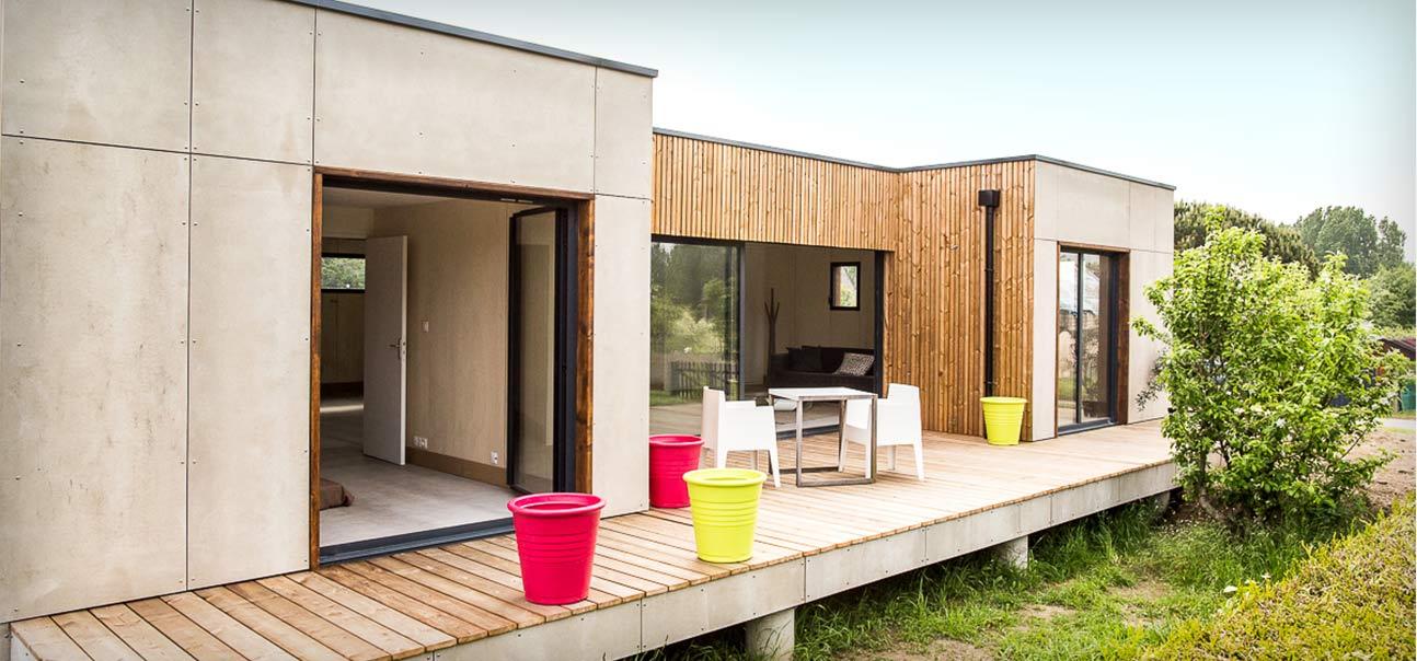 maison loft en bois une maison bois bton en pologne 8 escalier pour mezzanine dans un loft. Black Bedroom Furniture Sets. Home Design Ideas