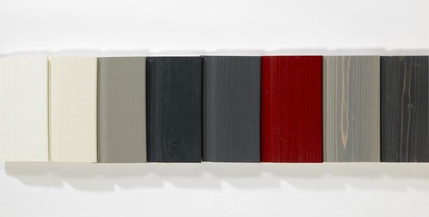 Paquebot- Bardage bois peint