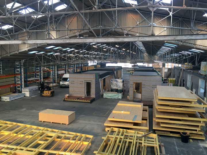 Ouverture de notre usine de fabrication de maisons à Pommeret (22)