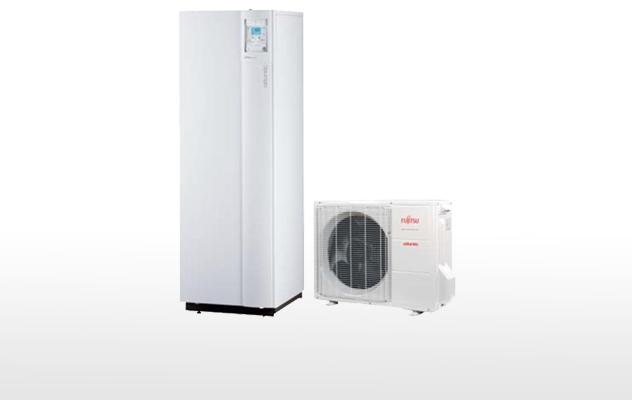 Paquebot - pompe à chaleur Atlantic Alfea Extensa duo + 2 radiateurs
